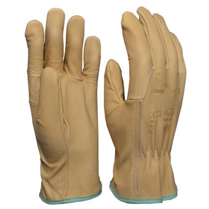 Visuel 309BHBE PEAUCEROS Gant de travail cuir confortable très souple et résistant