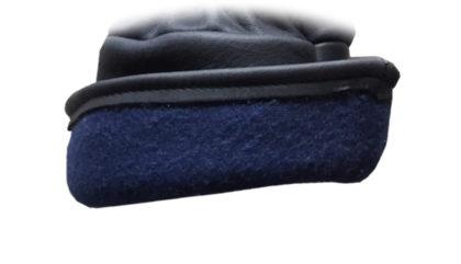 Visuel 335BHFG PEAUCEROS Gant de travail cuir noir Doublure polaire hiver doublé grand froid montagne