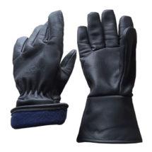 Visuel 335BHFG PEAUCEROS gant de travail cuir noir hiver doublé grand froid montagne