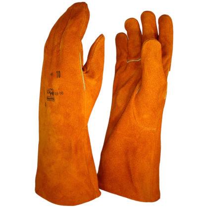 Visuel 473 PEAUCEROS Gant de travail cuir soudure anti-chaleur